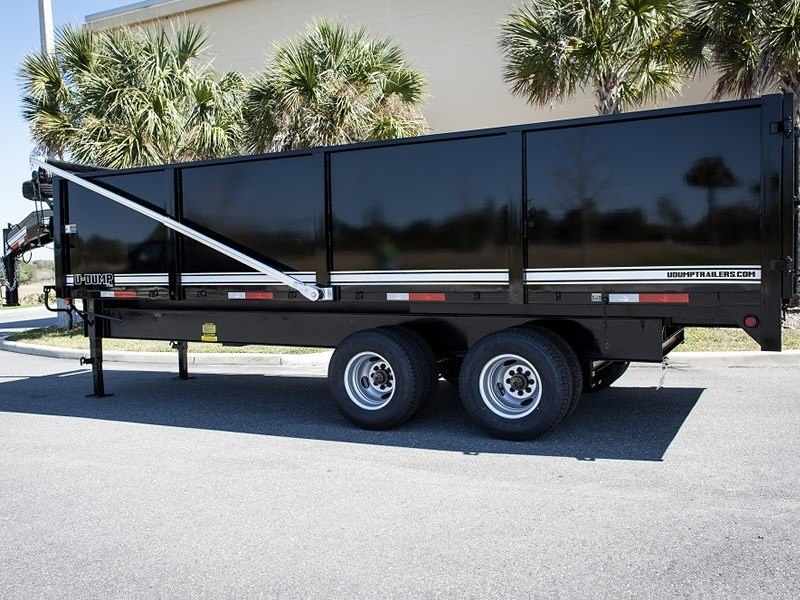 Tandem Dual Dump Trailer Close